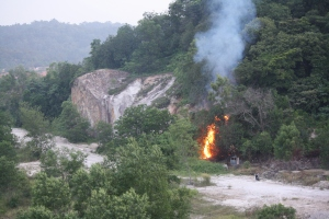 open burning is one of the cause of haze