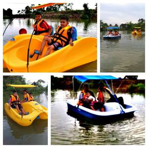 Water reacreation at Homestay MADA Pulau Pisang