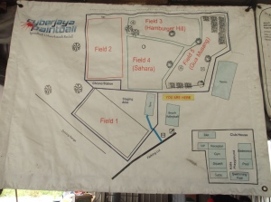 Cyberjaya Paintball Park Field Layout