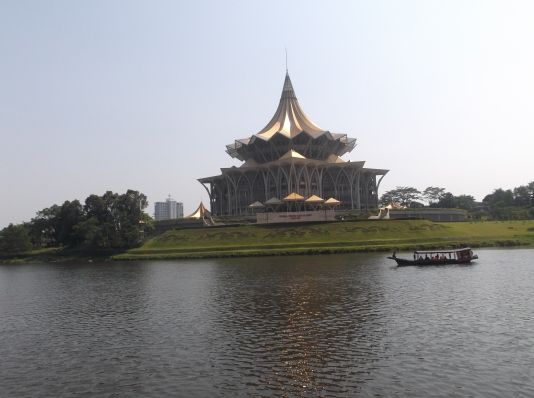 Dewan Undangan Negeri - A New Scenery Across Sarawak River