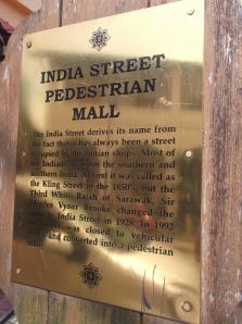 India Street in Kuching