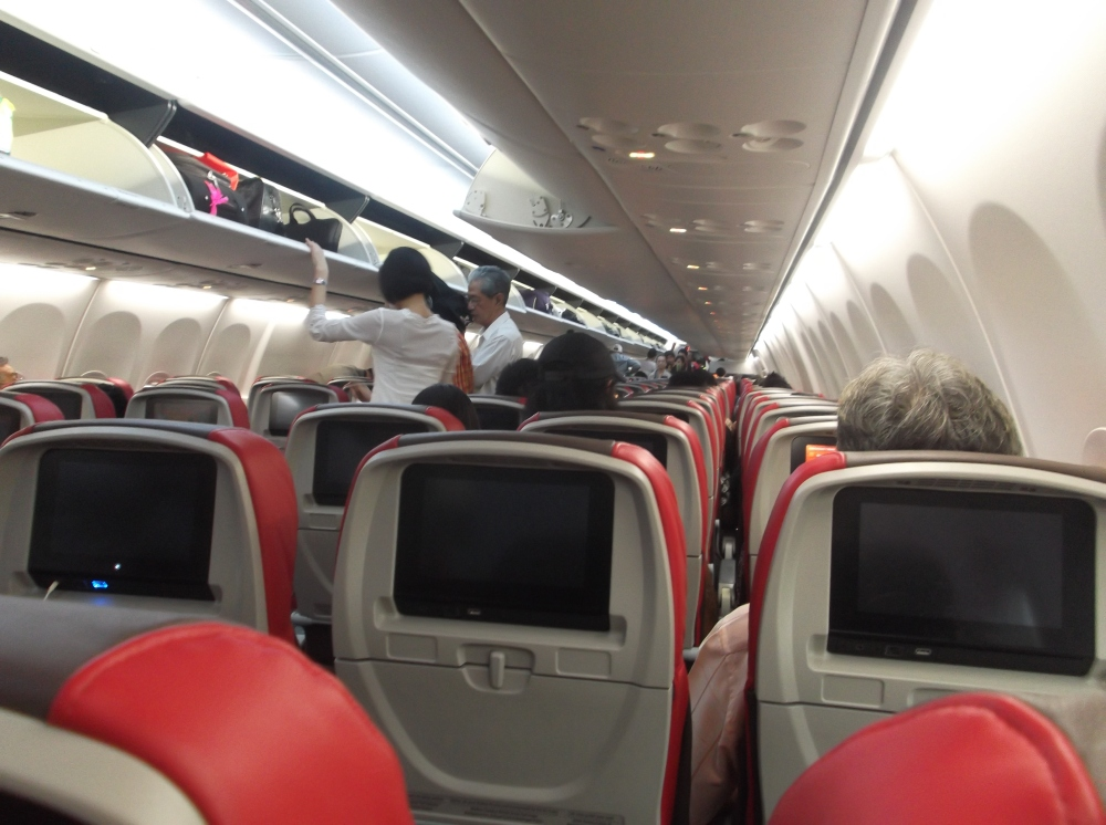 View from seat 33F on Malindoair