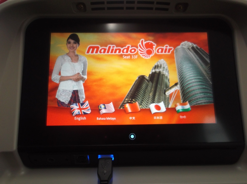 Malindoair LCD Screen for In House Entertainment