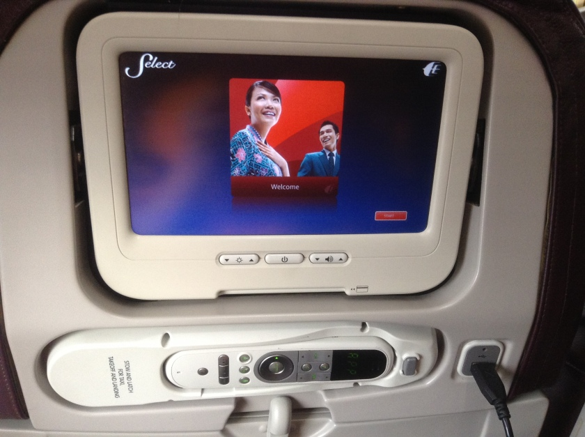 Touch Screen facilities for your In Flight entertainment