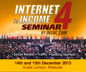 Internet To Income  by Patric Chan