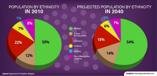 population by ethnic