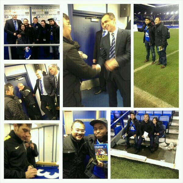Wee at Everton