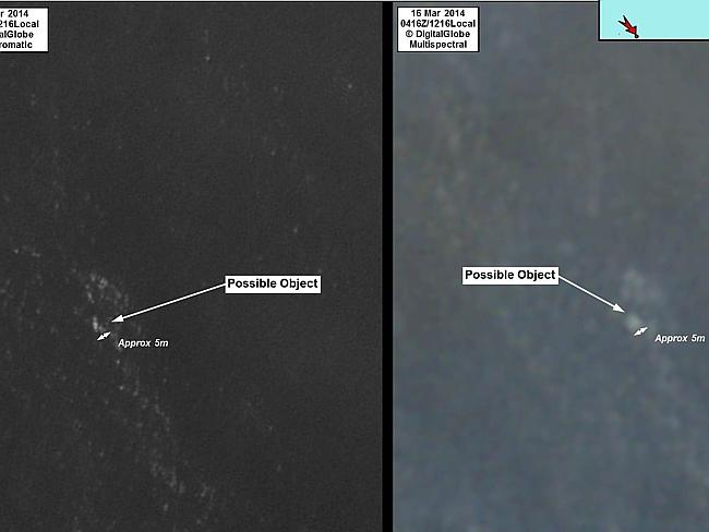 MH370 Australian Satelite Image