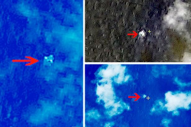 Chinese Sattelite Image of MH370?