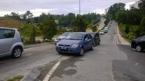 Idiots at Bomba B Jalil Traffic light