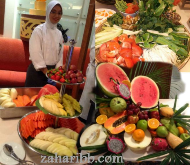 fruits and ulam