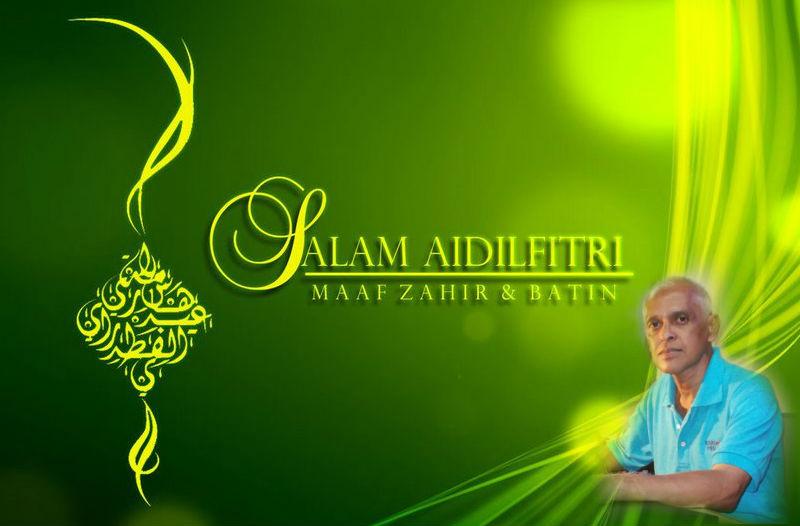 Aidil Fitri Wish
