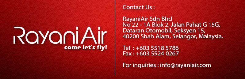 Rayani air contact