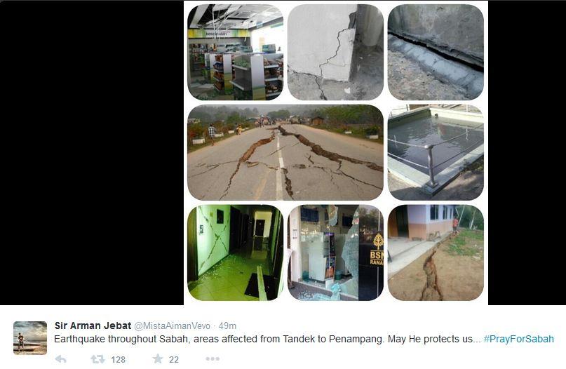 Sabah earthquake1