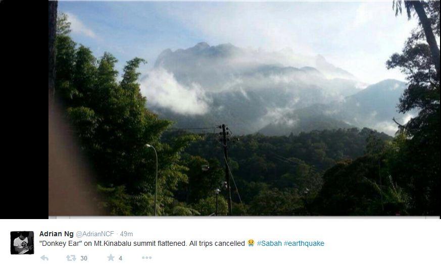 Sabah earthquake2 Kinabalu