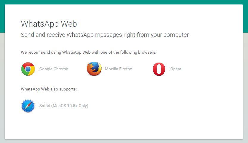 Whatsapps Web