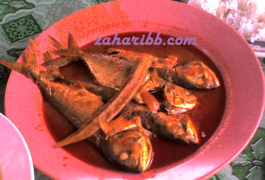 Gulai Ikan Temenung DiUtara