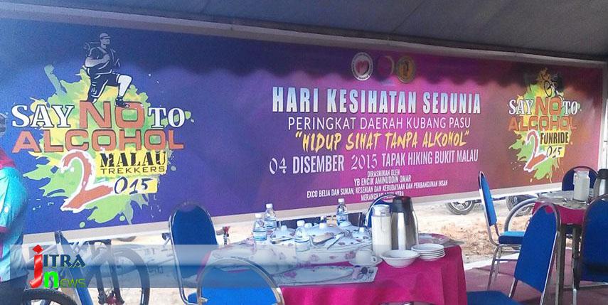 Hari Kesihatan Sedunia 2015 di Bukit Malau,Jitra