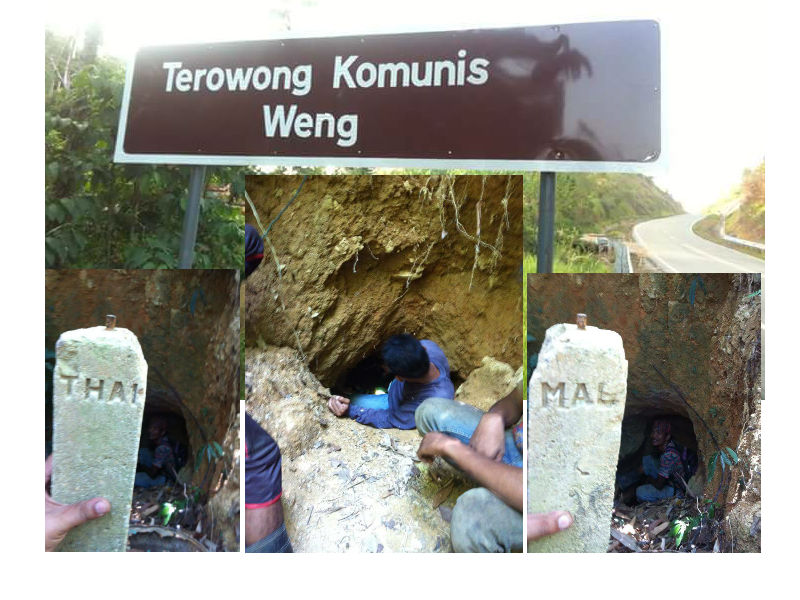 terowong komunis baling
