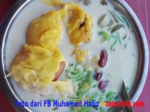 Cendol Pulut Durian